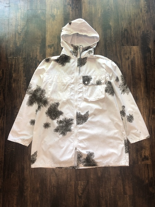 「used」German Army Snow Camouflage Reversible Parka