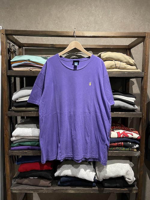 「used」Polo Ralph Lauren Crew Neck Tee(XL)