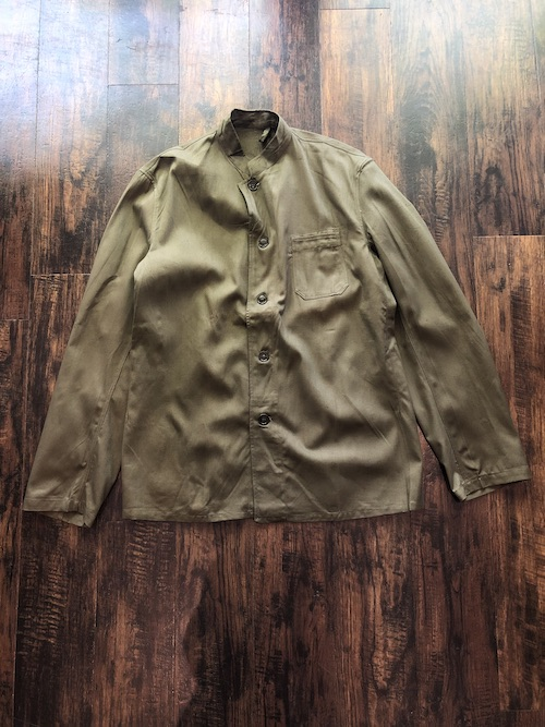 「Dead Stock」50's Czech Army Stand Collar Jacket