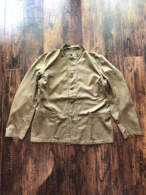 「Dead Stock」50's Czech Army Stand Collar Jacket Patch Pocket